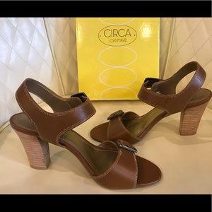 NEW Circa Joan & David Cognac Shoes
